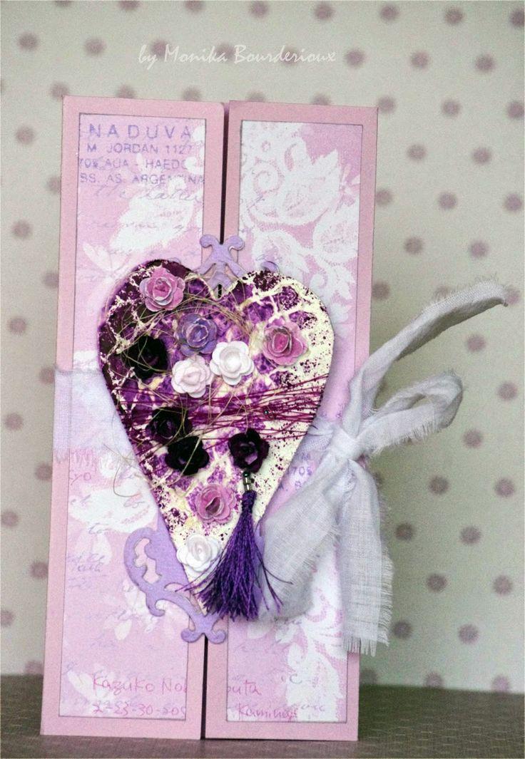 Heart Mixed Media Card