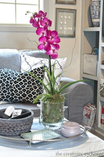 Quick Trick: Re-Potting Silk Orchids to Look Real
