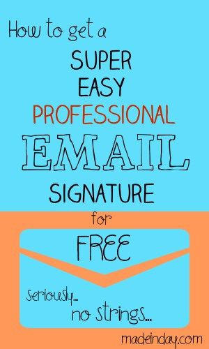 Best 25+ Email signature generator ideas on Pinterest