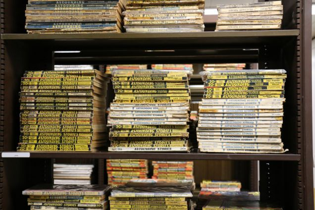 University of Iowa Receives18,000 Volume Science Fiction Library