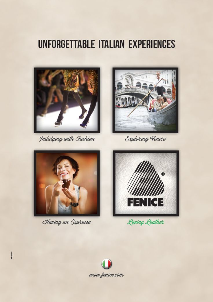 FENICE Advertising // Unforgettable Italian Experiences