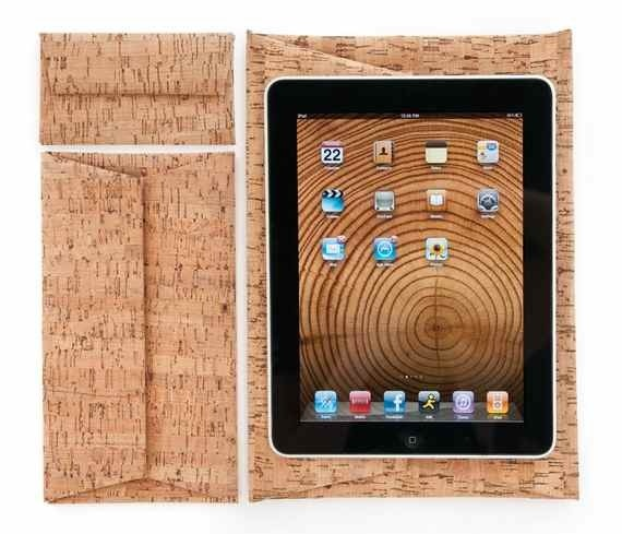 Artecnica Cork Case for iPad.  Will guarantee your iPad is best dressed!