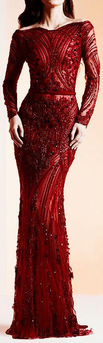 Ziad Nakad Haute Couture Spring/Summer 2014 #MiddleEasternFashion