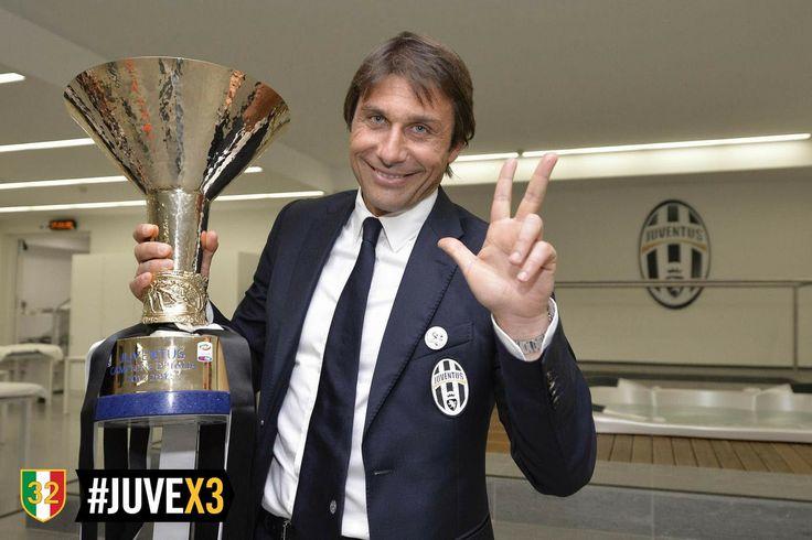 Juventus campione d'Italia - Festeggiamenti - Conte