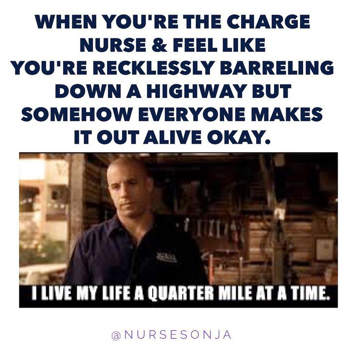 I feel like the charge nurse version of me can connect to Dominic Toretto on a very real level...I'm not really sure what the plan is; or how to make the plan happen; but somehow the squad comes together & keeps us fresh & ready for a sequel. Dom never really has a goddamn clue what he's doing, but it just sorta works out. I am nursing Vin Diesel. ‍♀️ ▫️ ▫️ Grateful for a great crew on today to keep everything in order during my shift. Your team will make or break your shift, & tod...