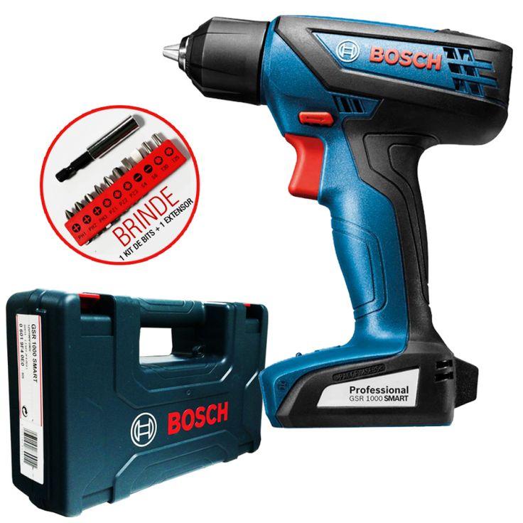 (3) Parafusadeira À Bateria 12v Gsr1000-li Smart Bosch(bivolt) - R$ 199,00 em Mercado Livre