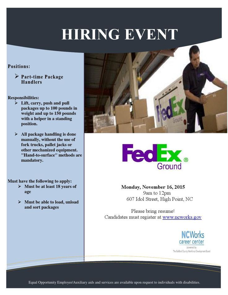 62 best Jobs, Careers, \ Customized Training images on Pinterest - fedex jobs