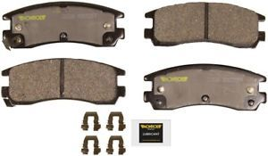 a disc brake pad total solution ceramic brake pads rear monroe cx508