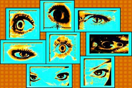 Peepers - Photoshop, szemek, Peepers, absztrakt, szemgolyó