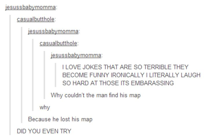 I've been laughing at this for the past ten minutes