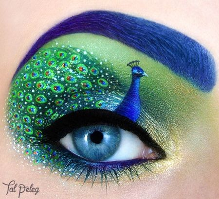 Des yeux comme tableaux d'art : les créations de Tal Peleg