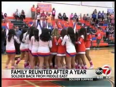 Solider's Surprise Welcome Home at Canutillo High School Homecoming - http://www.militarysurprise.com/soliders-surprise-welcome-home-at-canutillo-high-school-homecoming/