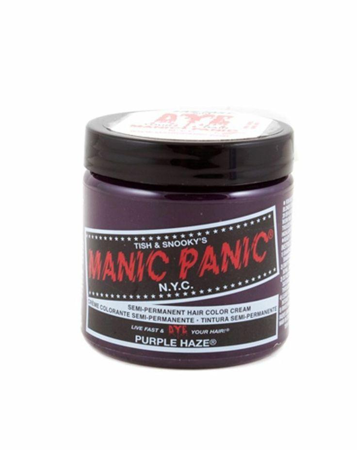Purple Hair Dye Manic Panic Purple Haze Amplified Color Gothic Semi Permanent