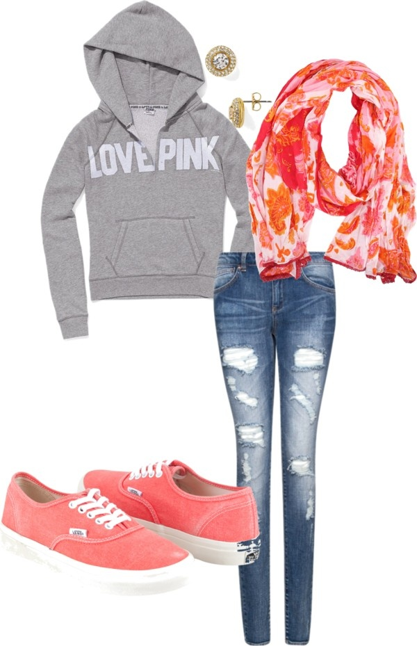 """""""comfy school outfit.."""" by mckantack on Polyvore"""