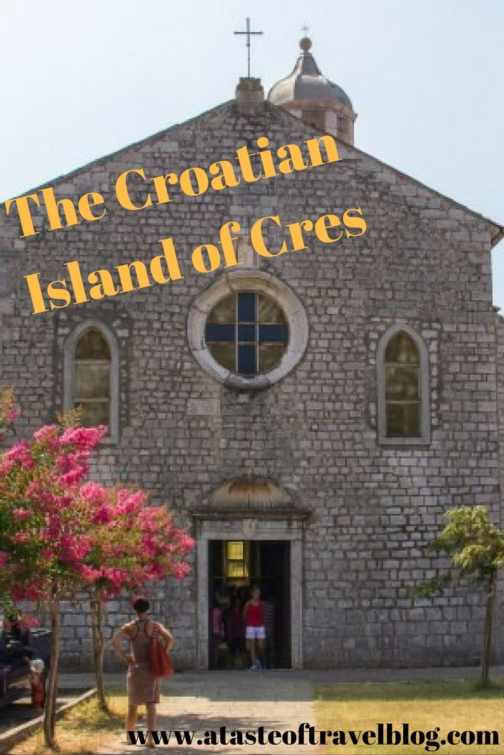Have you ever visited a town that reminded you of another? Take a tour on the Croatian Island of Cres. #Croatia #travel
