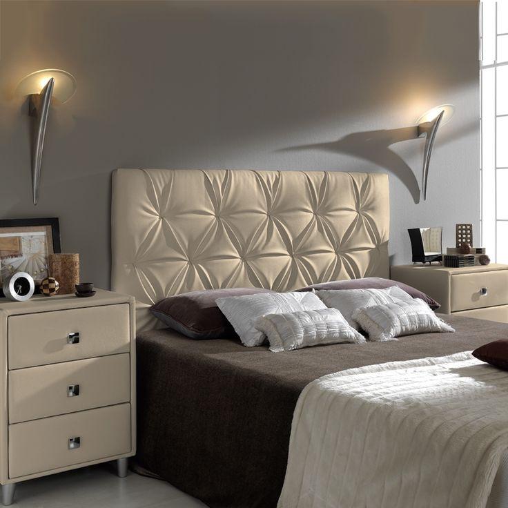 Mejores 29 imágenes de Cabeceras cama en Pinterest | Cabeceras de ...