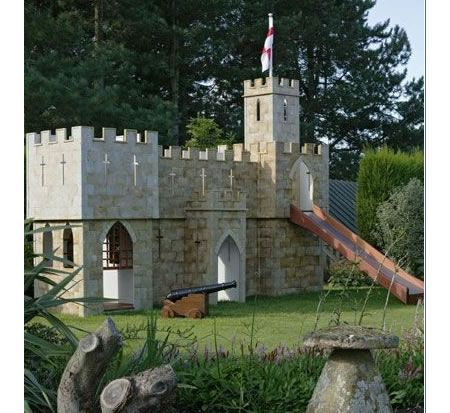 The Castle Fortress Playset Backyard Playground Backyard For