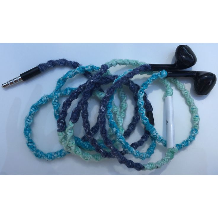 Ocean wrapped earbuds/earphones for iPhone, iPod, iPad or any device that takes a 3.5mm jack (note volume control only works with apple products and earbuds are new/never used none branded). We use 100% cotton to wrap our designs. Wrapping earbuds looks unique and will help with tangling and stop tight knots occurring but will not necessary prolong the life of your earbuds. Earbuds must still be handled with care to prolong their life span.