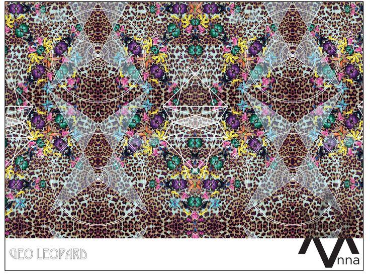Geometric/Safari/Neon continuous print