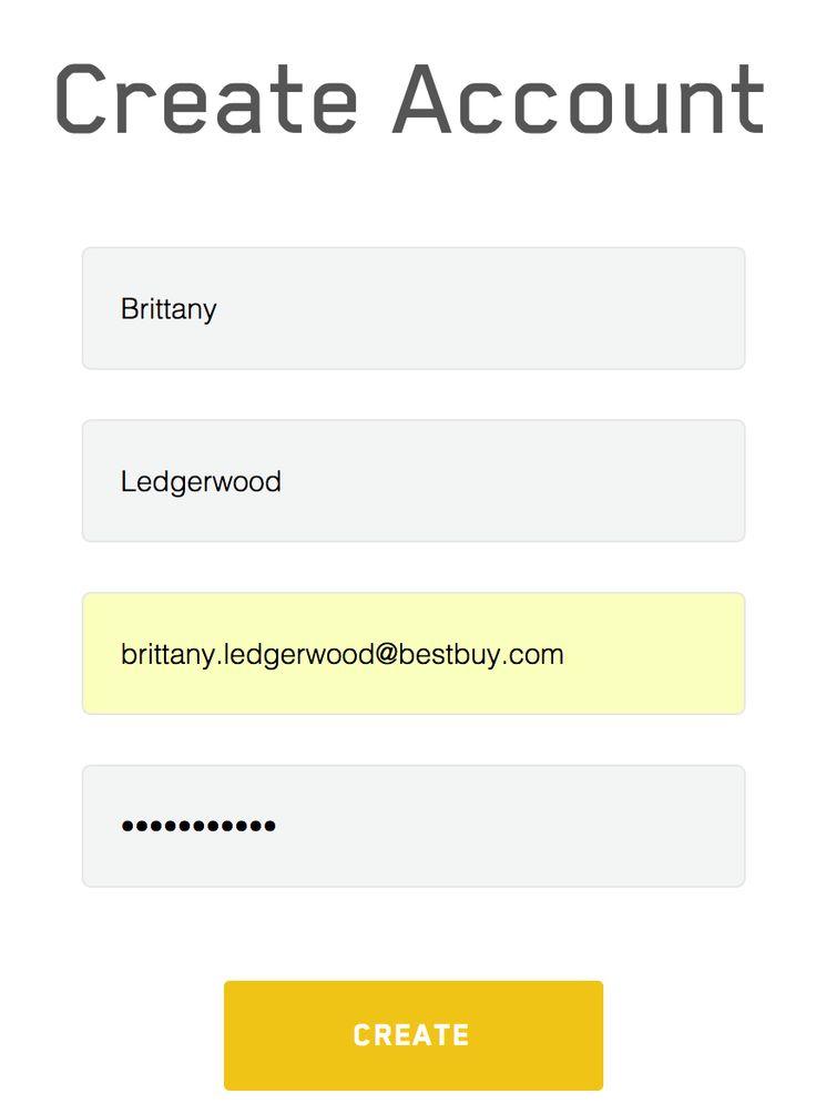 Simple form input
