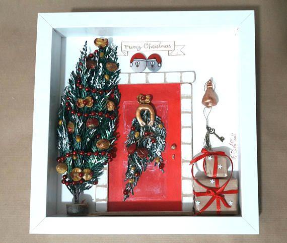 https://www.etsy.com/listing/566618995/pebble-art-christmas-christmas-mood #fdvafiadi #driftwoodfdvafiadi