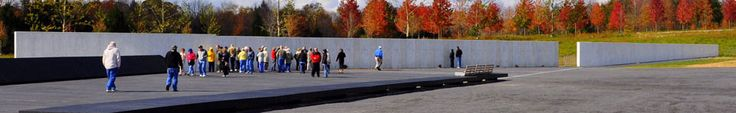 Flight 93 National Memorial GPS: 6424 Lincoln Highway, Stoystown, PA 15563