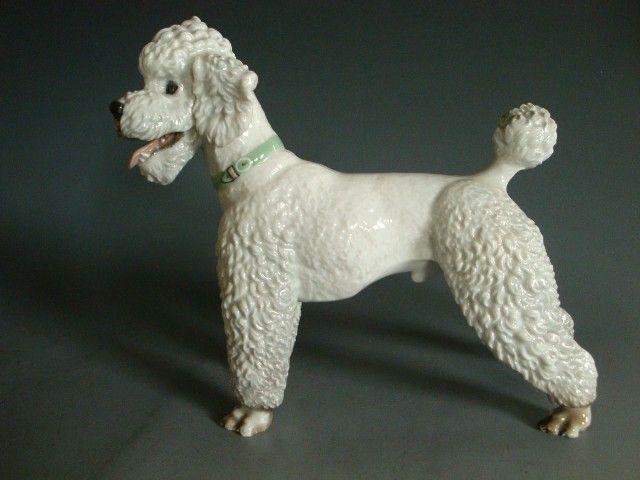 Poodle Porcelain Details About Vintage Rosenthal Huge