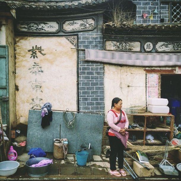 Chongqing-based photographer Niao Gu Niang.