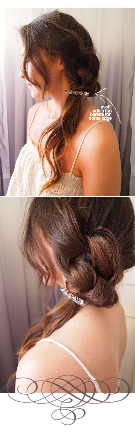 forget-me-knot braided pony~