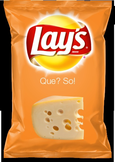 Que? So!    I created a chip flavor! What do ya think?