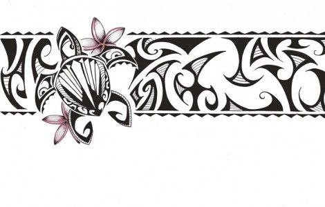 Polynesian Band Tattoos Designs