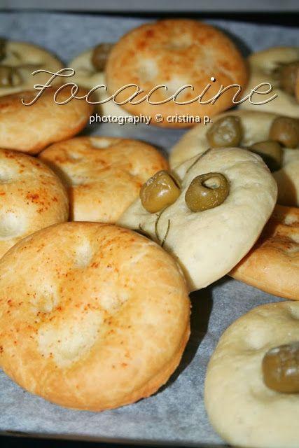 La zucca capricciosa: Focaccine aromatiche