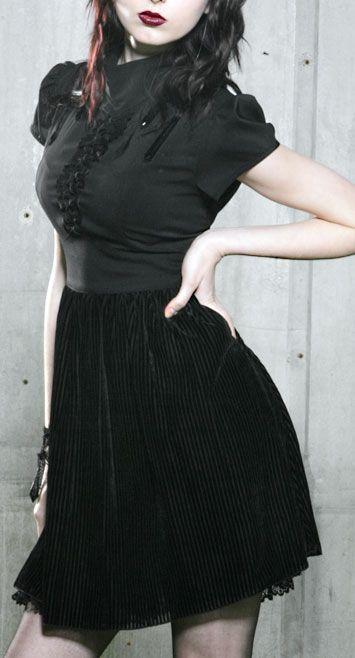 Cap Sleeve BabyDoll Dress by Blacklist