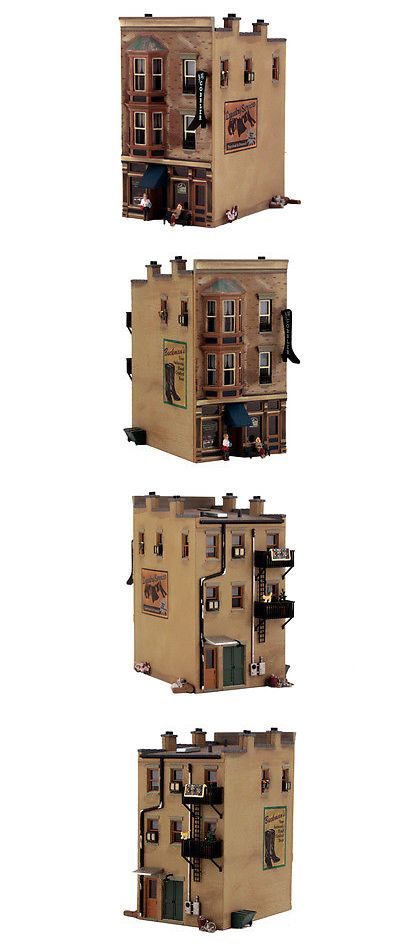 Buildings Tunnels and Bridges 99807: New Woodland O Scale Built-And-Ready Structure J.W. Shoe Cobbler Br5843 -> BUY IT NOW ONLY: $93.95 on eBay!