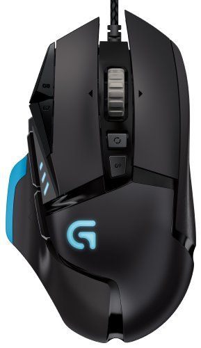 Logitech G502 Proteus Core Tunable Gaming Mouse - http://geekarmory.com/logitech-g502-proteus-core-tunable-gaming-mouse/