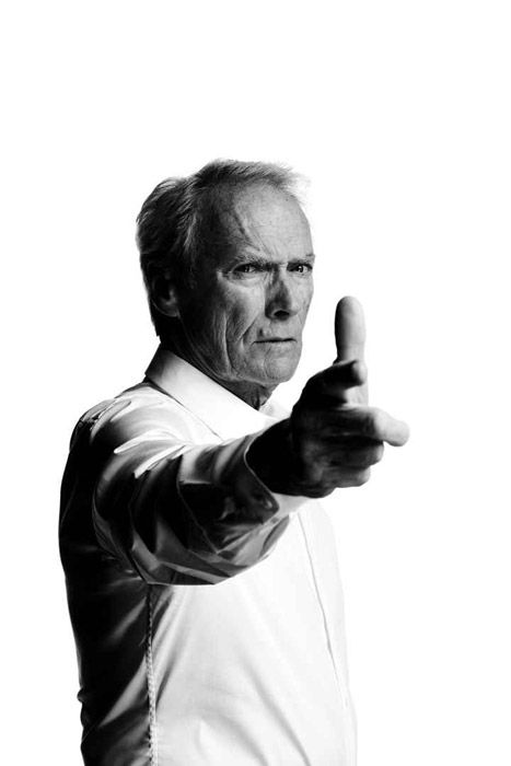 Clint Eastwood by Nigel PARRY