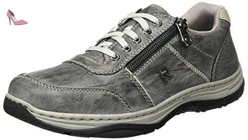 Rieker 16300, Sneakers Basses Homme, Gris (Graphit/Ice), 44 EU - Chaussures rieker (*Partner-Link)