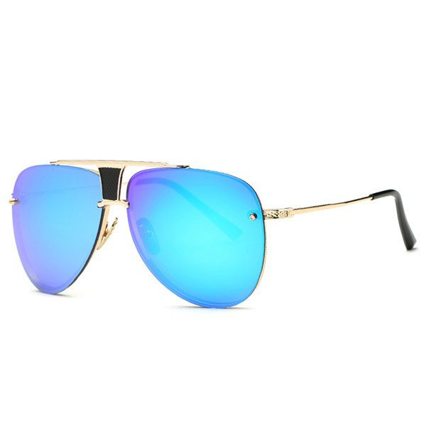 Vintage Frameless Pilot Mirrored Sunglasses #jewelry, #women, #men, #hats, #watches, #belts