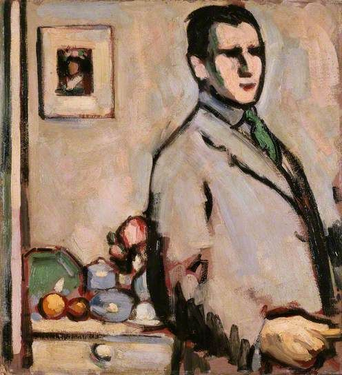 Self Portrait / John Duncan Fergusson / 1907 / oil on canvas