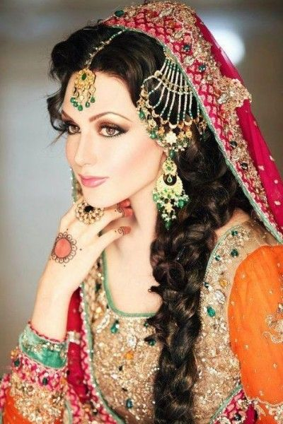 Pakistani Wedding Dresses Collection 2014 for Bride. #bridaldresses…