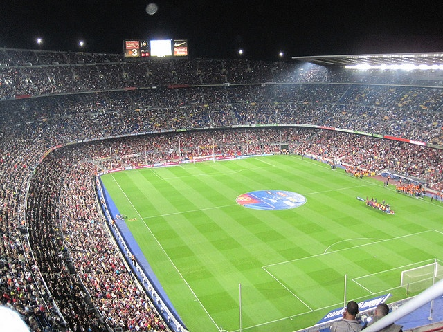 Espana-Tourist Attractions- Camp Nou(soccer stadium) in Barcelona