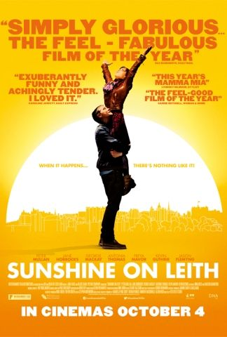 Sunshine on Leith - Two Scottish soldiers return from Afghanistan, home to Leith (Edinburgh, Scotland) to the warm embrace of their families.
