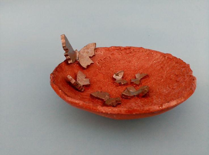 Cuenco mariposas pequeño