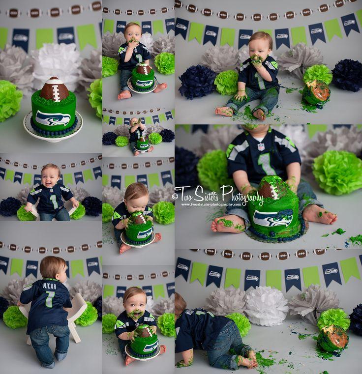 Seahawks Birthday Cake