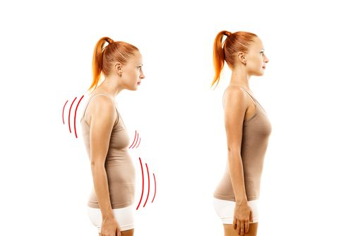 How to Fix Your Posture With Exercise. Back pain is one of the most common ailments people suffer from, and very often, it's due to postural issues. By correcting poor posture, it is possible for many individuals to find relief from their discomfort. First, though, you have to know what type of posture you have.