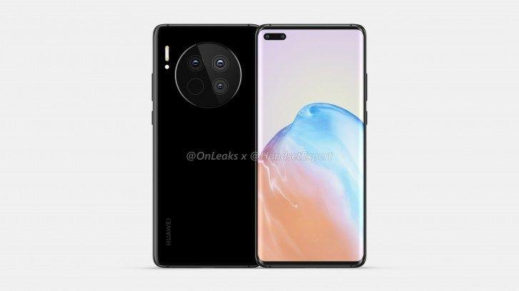 Huawei Mate 40 Renders Showcase Gigantic Circular Camera Bump Huawei Huawei Mate Samsung Galaxy Phone