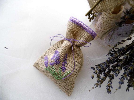 Lavender Wedding Lavender Favors Gift by MelindasSewingCorner