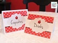 Throw a wonderful Ladybug themed birthday party for yourlittle one with the help of these cute and free printablesfrom How to Nest For Less!