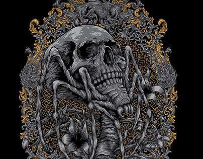 "Check out new work on my @Behance portfolio: ""skull"" http://be.net/gallery/51142143/skull"
