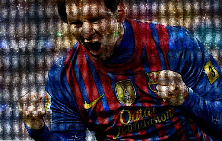 Mister Bling le pone brillo al astro argentino del fútbol Lionel Messi.